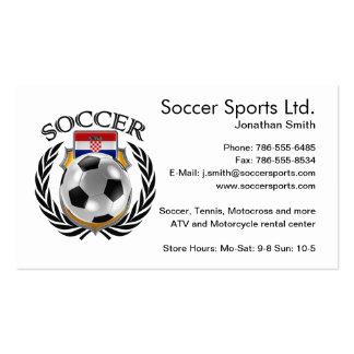 Croatia Soccer 2016 Fan Gear Business Card