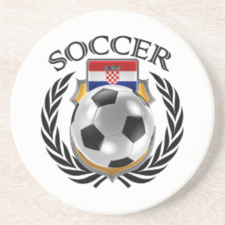 Croatia Soccer 2016 Fan Gear Coaster