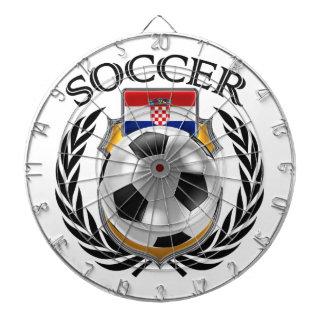Croatia Soccer 2016 Fan Gear Dart Board