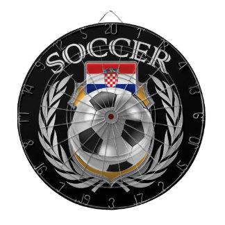 Croatia Soccer 2016 Fan Gear Dartboard With Darts