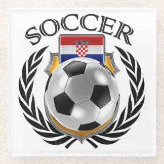 Croatia Soccer 2016 Fan Gear Glass Coaster