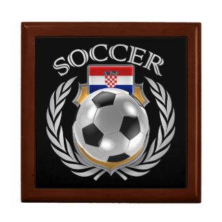 Croatia Soccer 2016 Fan Gear Jewelry Box