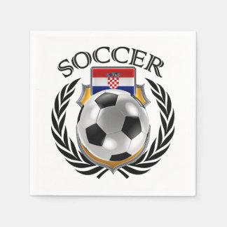 Croatia Soccer 2016 Fan Gear Paper Napkin