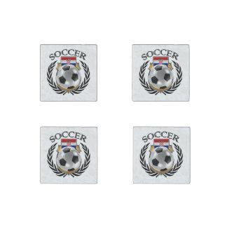 Croatia Soccer 2016 Fan Gear Stone Magnet