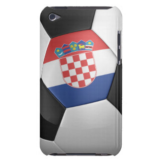 Croatia Soccer Ball Barely There iPod Covers