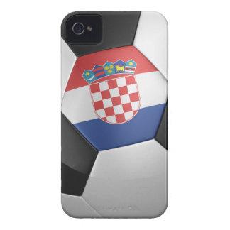 Croatia Soccer Ball iPhone 4 Cover