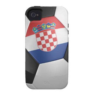 Croatia Soccer Ball Vibe iPhone 4 Cases