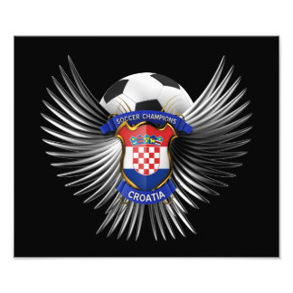 Croatia Soccer Champions Photograph
