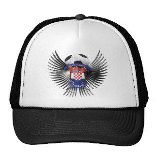 Croatia Soccer Champions Trucker Hats