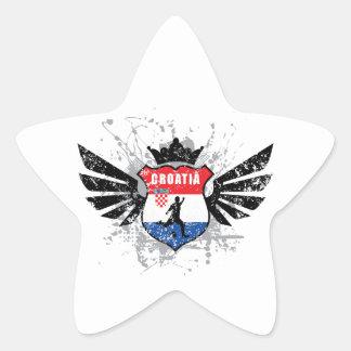 Croatia soccer star sticker