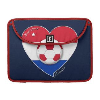 """CROATIA"" Soccer Team 2014. Fútbol de Croacia Funda Para Macbooks"