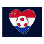 """CROATIA"" Soccer Team 2014. Fútbol de Croacia Tarjeta Postal"