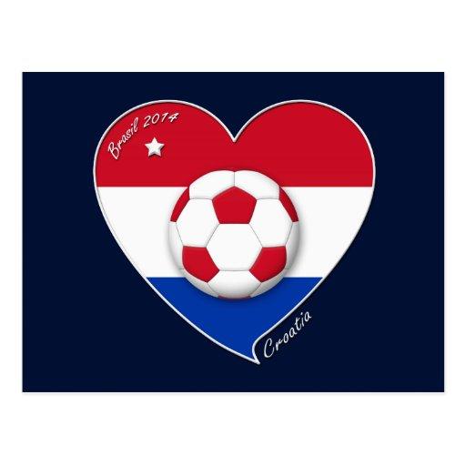 """CROATIA"" Soccer Team 2014. Fútbol de Croacia Postales"