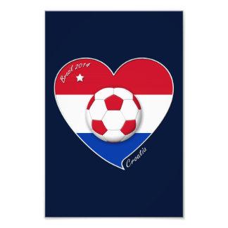 """CROATIA"" Soccer Team 2014. Soccer of the Croatia Photo Print"