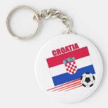 Croatia Soccer Team Keychain