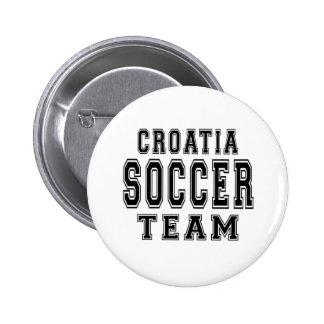 Croatia Soccer Team Pinback Button