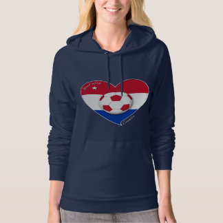 """CROATIA"" Soccer Team. Soccer of the Croatia 2014 Hoodie"