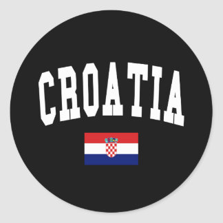 Croatia Style Sticker