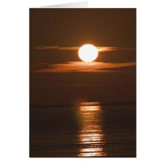 Croatia Sunset Card