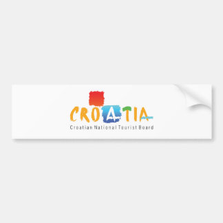 Croatia tourism bumper sticker
