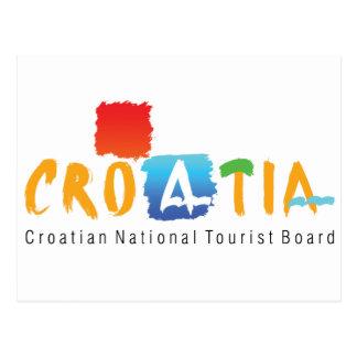 Croatia tourism postcard