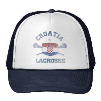 Croatia-Vintage Trucker Hat
