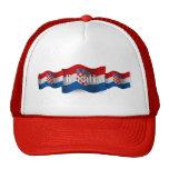 Croatia Waving Flag Hat