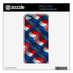 Croatia Waving Flag iPhone 4 Skin