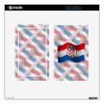 Croatia Waving Flag Kindle Fire Decal