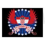 Croatia Winged Cards