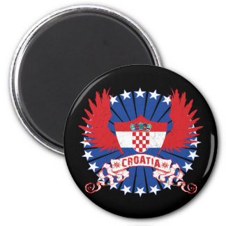 Croatia Winged Magnet