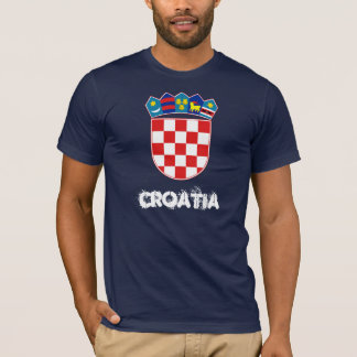Croatia with coat of arms T-Shirt