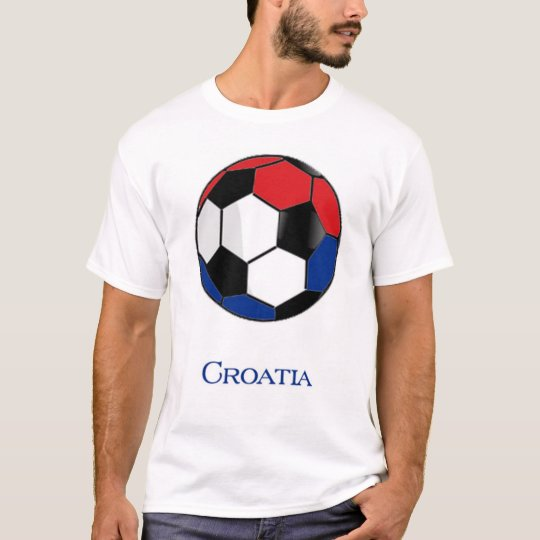 Croatia World Cup Soccer T-Shirt