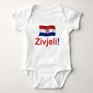 Croatia Zivjeli! (Cheers) Baby Bodysuit