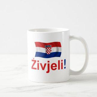 Croatia Zivjeli! (Cheers) Coffee Mug