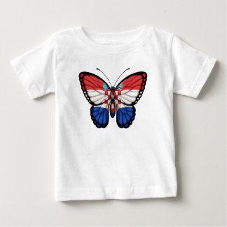 Croatian Butterfly Flag Baby T-Shirt