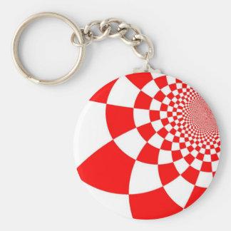 Croatian checkers keychain