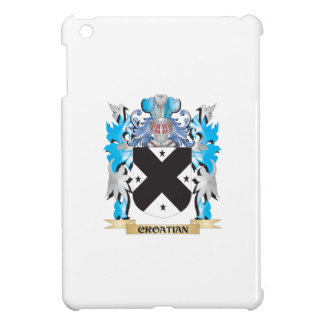 Croatian Coat of Arms - Family Crest Cover For The iPad Mini