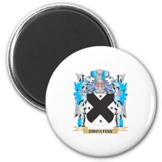 Croatian Coat of Arms - Family Crest Refrigerator Magnet