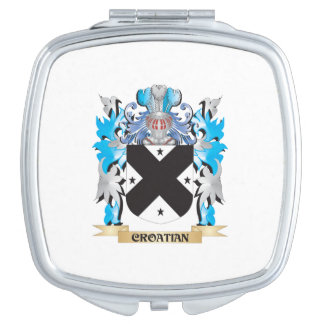 Croatian Coat of Arms - Family Crest Compact Mirror
