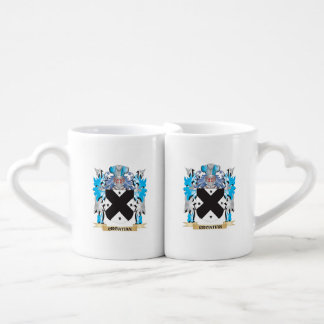 Croatian Coat of Arms - Family Crest Couples Mug