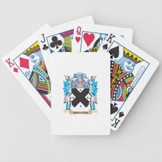 Croatian Coat of Arms - Family Crest Poker Deck