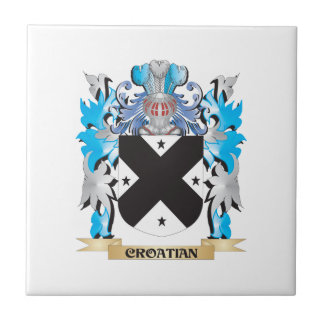 Croatian Coat of Arms - Family Crest Ceramic Tiles