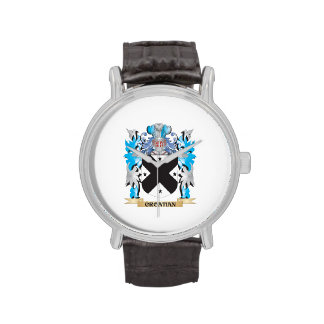 Croatian Coat of Arms - Family Crest Wristwatches
