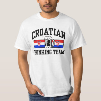 Croatian Drinking Team T-Shirt