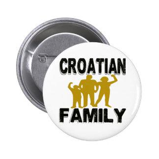 Croatian Family Buttons