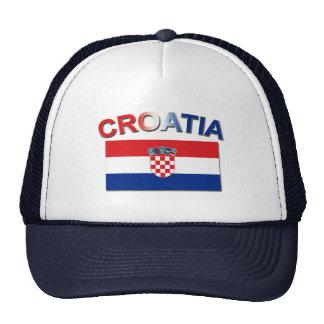 Croatian Flag 2 Trucker Hat