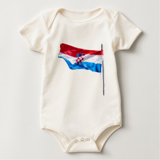 Croatian Flag Baby Bodysuit