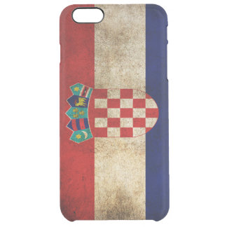 croatian flag clear iPhone 6 plus case