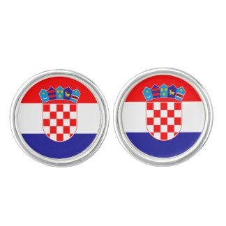 Croatian flag cufflinks | Croatia country colors